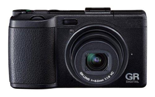 Ricoh GRD IV Digital Camera - Black (10MP, GR Lens F1.9) 3 inch LCD