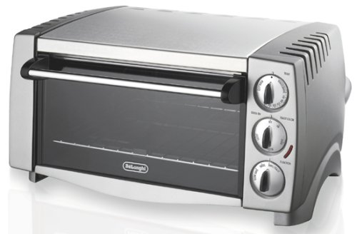 Delonghi 6 Slice Toaster Oven - Stainless