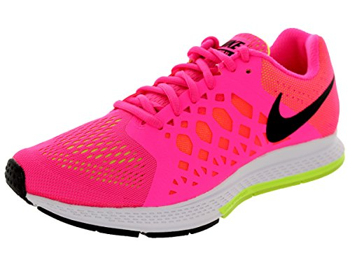 Nike Women's Zoom Pegasus 31 Hyper Pink/Black/Volt Running Shoe 8.5 Women US