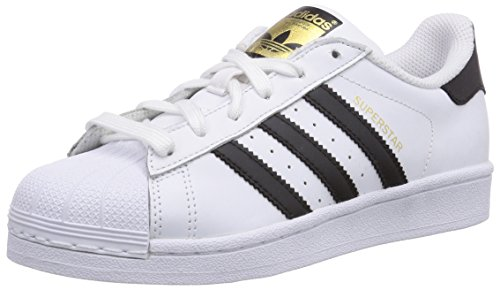 Adidas Superstar, Scarpe da Basketball Unisex Adulto, Bianco (Ftwr White/Core Black/Ftwr White), 38 EU
