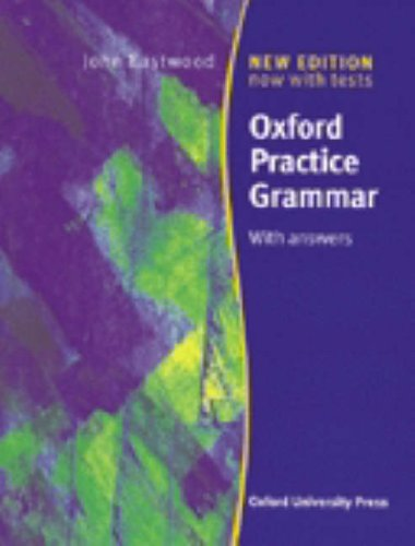 Oxf pract grammar w/key ed 99: With Answers (Grammar Lessons)