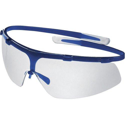 Uvex Super G 9172-265 Safety Eyewear 100% UV protection Lens, Blue,