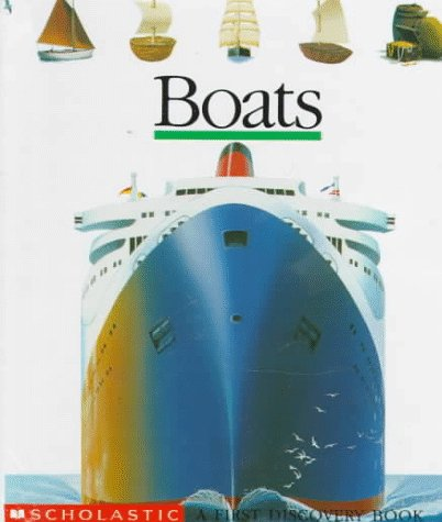 Boats: A First Discovery Book back-1012307