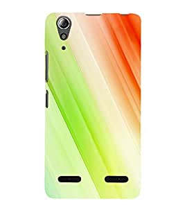 Multicolour Line Pattern 3D Hard Polycarbonate Designer Back Case Cover for Lenovo A6000 :: Lenovo A6000 Plus :: Lenovo A6000+
