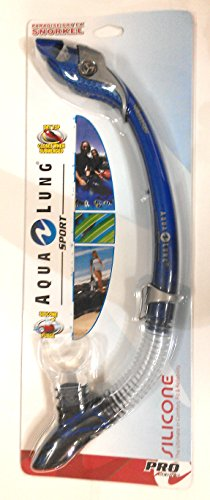Aqua Lung Sport Paradise Dry LX Snorkel in Electric Blue 1001393 (Aqua Lung Sport Pro Series compare prices)