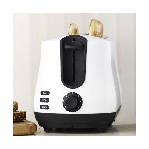 Lakeland Elementi 2 Slice Toaster White