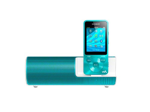 Sony Walkman S-Series Nw-S784K/L Blue 8Gb Mp3 Music Player With Speakers Japan Model