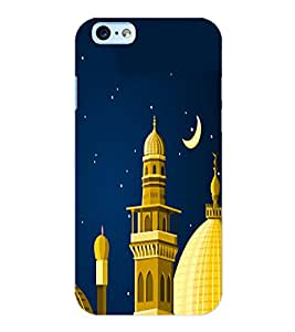 ColourCraft Masjid Back Case Cover for APPLE IPHONE 6