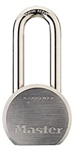 Master Lock 930DLHPF High Security Keyed Different Padlock with 2-1/2-inch Solid Steel Body, 2-inch Shackle