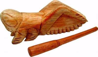 """6"""" Wood Cricket"""