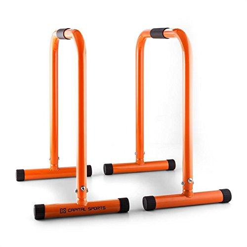 Klarfit Orange Parallele Core Equalizer per allenare l'intero corpo 180 kg colore Arancione