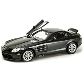 diecast car: 2005 Mercedes Benz SLR McLaren diecast model car