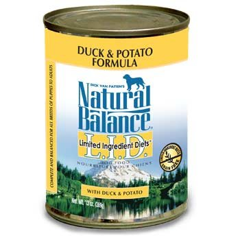 Natural Balance Limited Ingredient Diets Premium Duck And Potato Formula Canned Dog Food