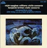 ヴォーン・ウィリアムス:ヴァイオリン協奏曲&ブリテン:ヴァイオリン協奏曲