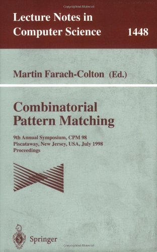 Combinatorial Pattern Matching, CPM 1998