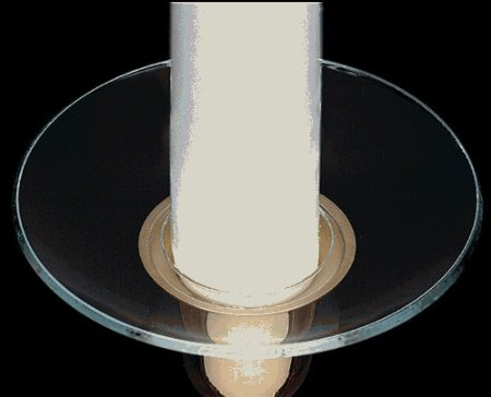 new glass bobeche candle rings wax catcher rings ebay. Black Bedroom Furniture Sets. Home Design Ideas