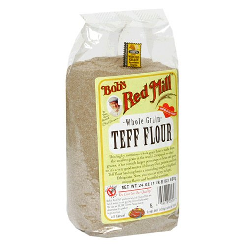 Bob's Red Mill Whole Grain Teff Flour, 24-Ounce Packages (Pack of 4)