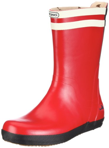 Viking Matros Rubber Boots Unisex-Adult Red Rot (Rot/Multi 1050) Size: 39