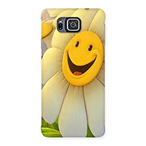 Ajay Enterprises Funny Sunflower Back Case Cover for Galaxy Alpha