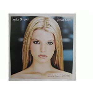 Jessica Simpson Poster Flat