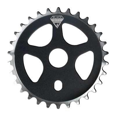 Black Ops Micro Drive 28T Bicycle Chainring - 28T Black