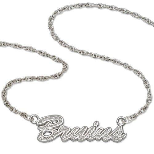 Boston Bruins Script Necklace