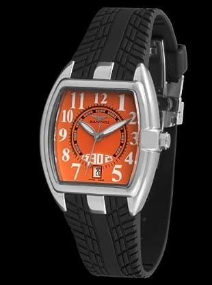 Sandoz 81254-04 - Reloj Fernando Alonso Señora quarzo negro / naranja