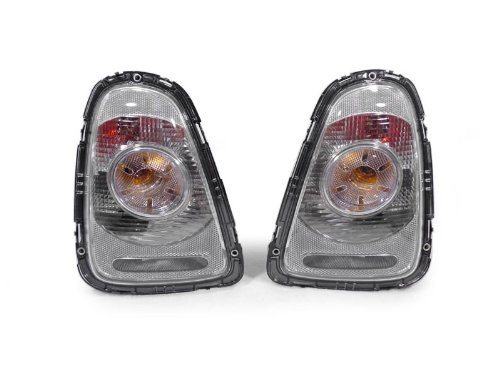 A Pair Of Depo Toric Clear (Frost Clear) Tail Lights - Mini Cooper 2007-2009