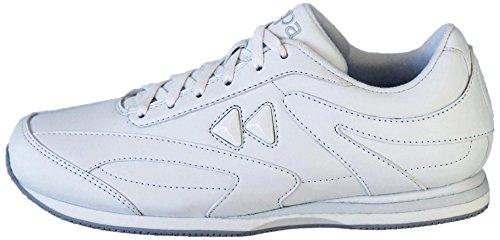 kaepa prism cheer shoe pair white 8 5 apparel