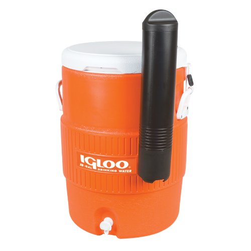 Igloo 10 Gallon Seat Top Beverage dispenser with spigot and Cup Dispenser (Igloo Loop Handle Cooler Tote compare prices)