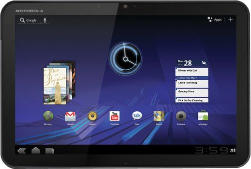 MOTOROLA XOOM Android Tablet (10.1-Inch, 32GB, Wi-Fi) by Motorola