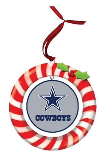 Dallas Cowboys Clay Dough Wreath Ornament at Amazon.com