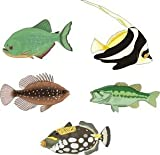 Smarts-Art Setf6 Tropical Fish Stickers Decal X 5 Any Use Bathroom