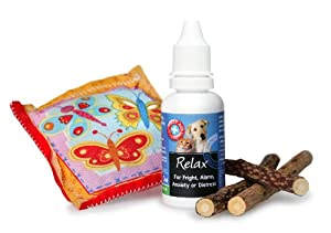 Cats Toy Gift Bag *Catnip* Pillow with a Natural Pet Stress Remedy and a Silvervine Chew / Present
