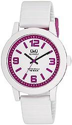 Q&Q Analog White Dial Mens Watch - VR10J011Y