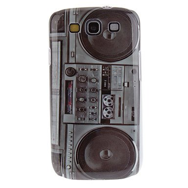 Limme-Ships In 48 Hours Radio Pattern Hard Case And Usb Charging Cable For Samsung Galaxy S3 I9300