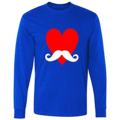 Mustache Love Long Sleeve T-Shirt