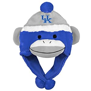 NCAA Kentucky Wildcats Team Sock Monkey Hat by Forever Collectibles