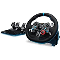 Logitech G29 Driving Force Racing Wheel for PlayStation 4 and PlayStation 3 (Black)