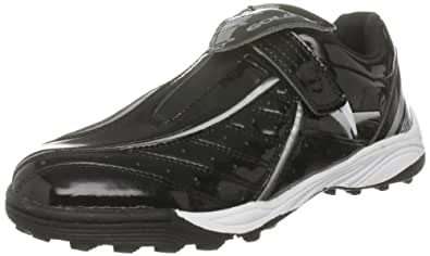 Gola Junior Bash Black/Silver Fashion Trainer Aba718 2 UK