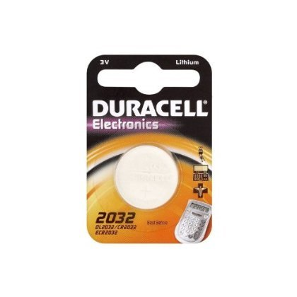 2 x 5 x DL2032 2032 3 v cR2032 duracell piles bouton lithium