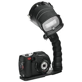 SeaLife DC1400 Pro 14MP HD Underwater Digital Camera with Flash & Flex Arm Bracket Waterproof up to 200 ft. (60m)