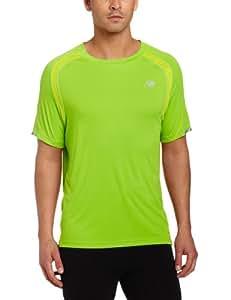 New Balance Men's Ice Short Sleeve Xs grün - grün