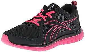 Reebok Women's Sublite Escape MT Running Shoe,Gravel/Solar Pink/Black/Dark Silver,11 M US