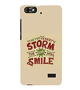EPICCASE After every storm Mobile Back Case Cover For Huawei Honor 4C (Designer Case)