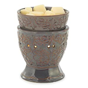 Candle Warmers Etc. Illumination Candle Warmer, Plum Goblet