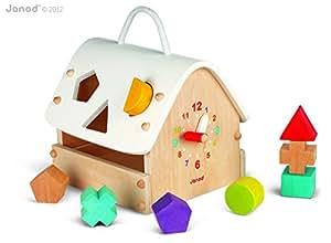 Janod - J05346 - Jouet en Bois - Eveil - Maison I Wood