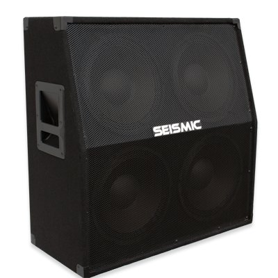 Seismic Audio - 412 Slant GUITAR SPEAKER CABINET - 4x12 400 Watts PA/DJ PRO AUDIO