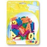 SMOBY - 028004 - Loisirs Créatifs  - 36 lettres magnétiques minuscules