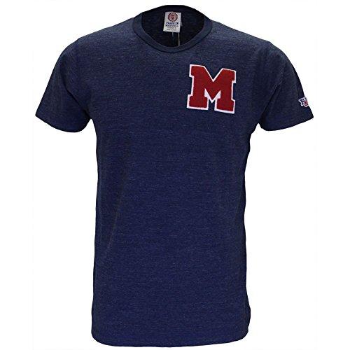 Franklin & Marshall -  T-shirt - Uomo Blu melange Small